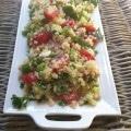 Tomato Cucmber Feta Quinoa Salad  A Cedar Spoon 5