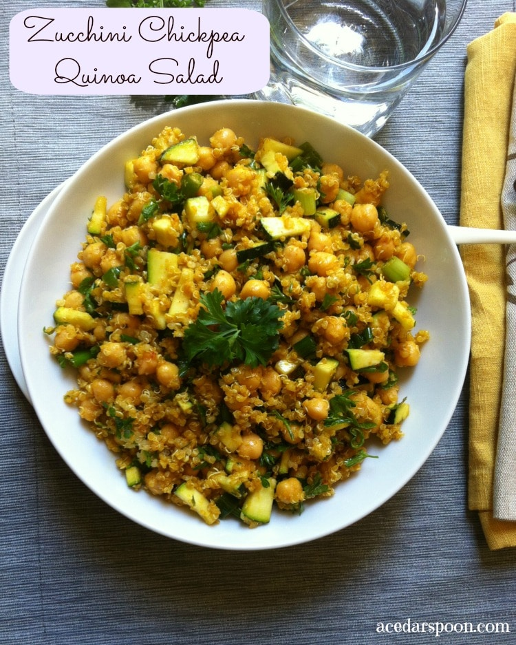 quinoa salad corn and zucchini salad with zucchini fresh corn ...