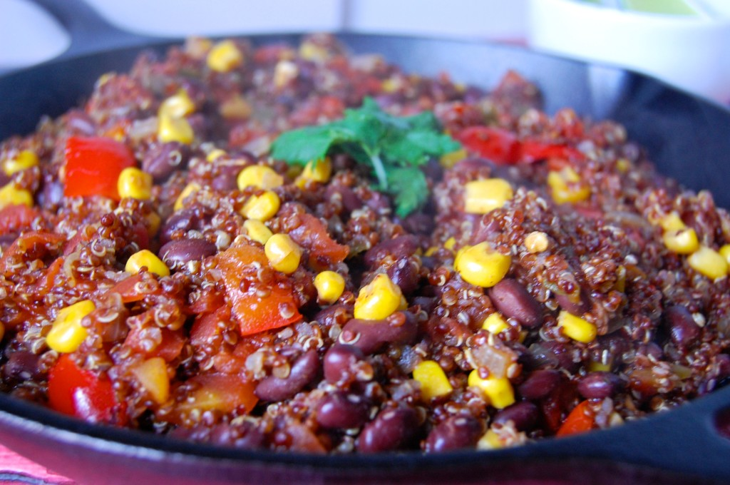 One Skillet Southwestern Quinoa