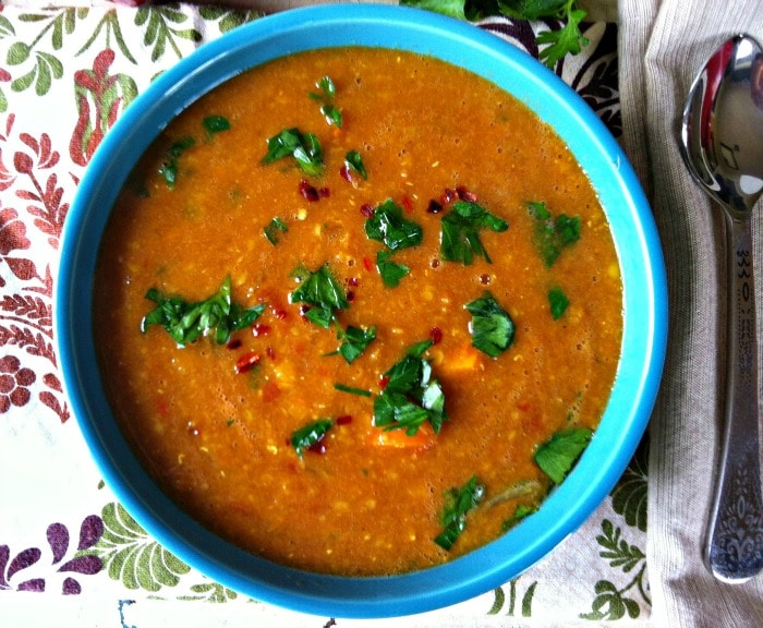 Moroccan Red Lentil Soup - the best