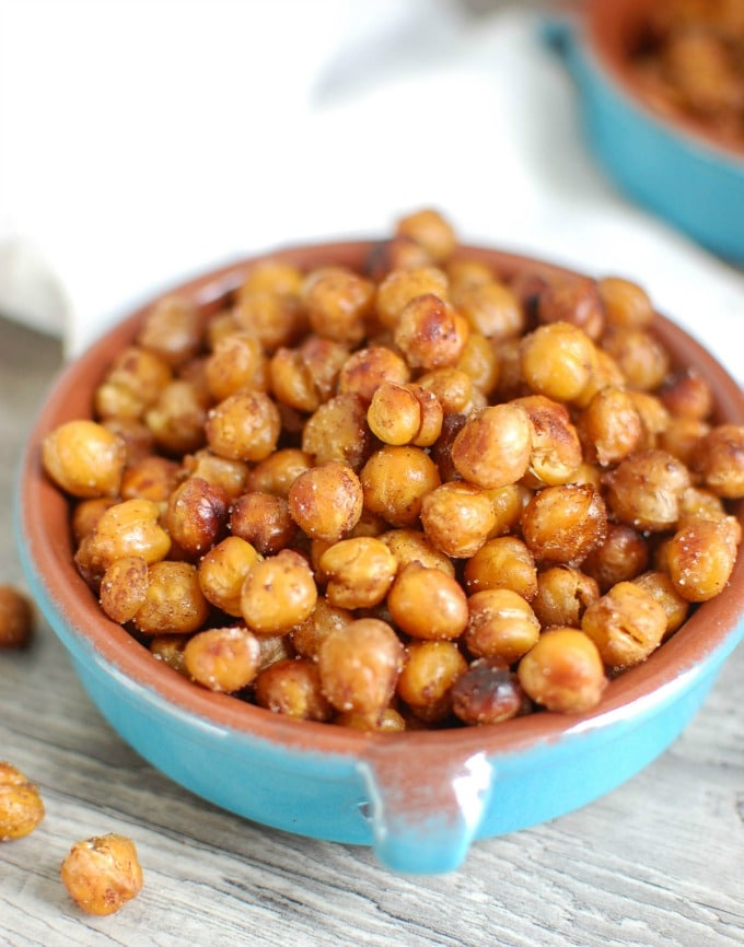 Crunchy Roasted Chickpeas - appetizer