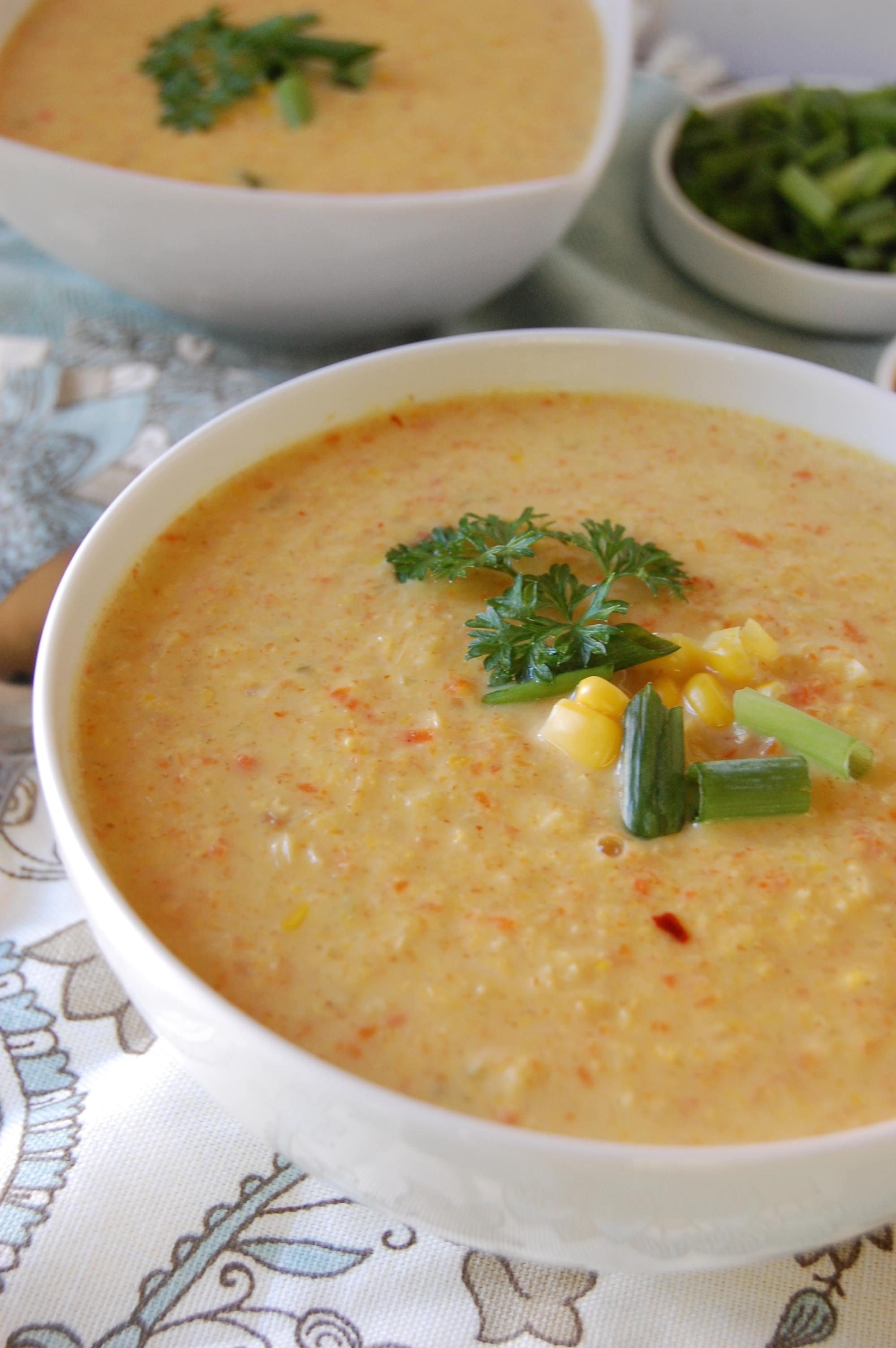 Vegetable Corn Chowder