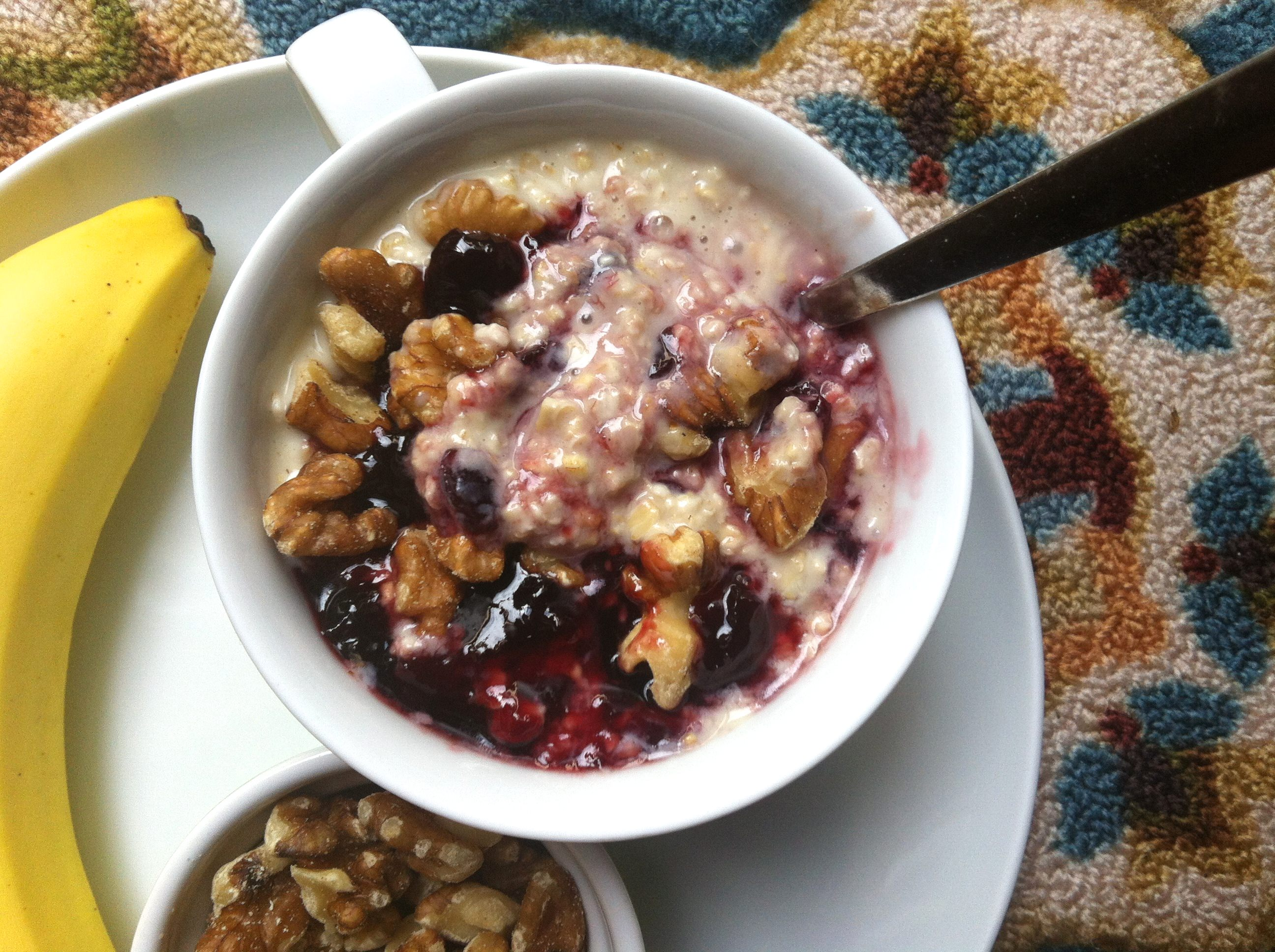 Cherry Overnight Oatmeal