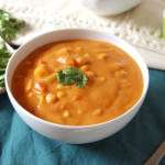 Indian Spiced Vegetable Chickpea Soup