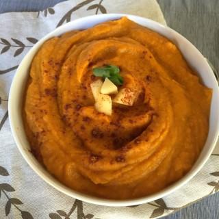 Butternut Squash Sweet Potato Apple Soup