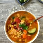 Orzo Minestrone Soup