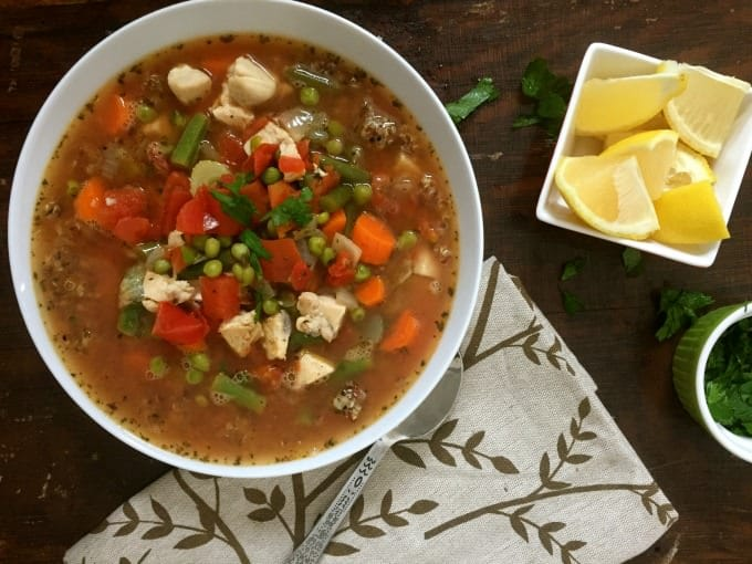 Chicken Quinoa Soup - yum