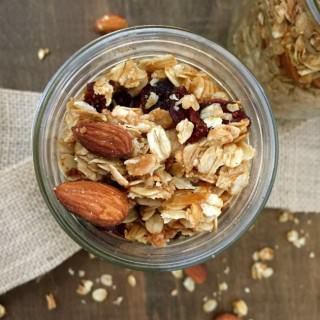 Coconut Cranberry Granola