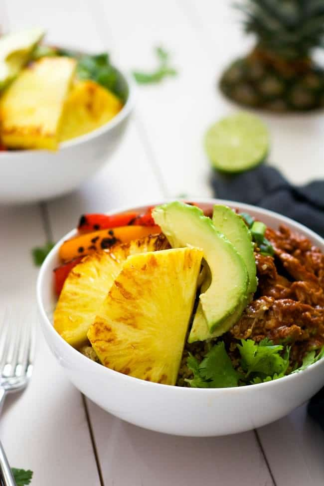 Slow-Cooker-Hawaiian-Pork-Burrito-Bowls-4