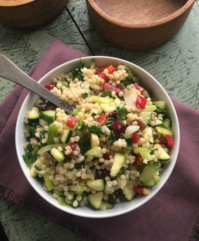 ... israeli couscous salad with lemon dressing israeli couscous