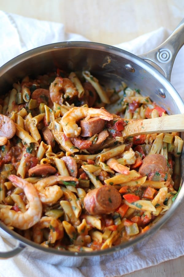 one_pot_shrimp_gumbo_pasta_1