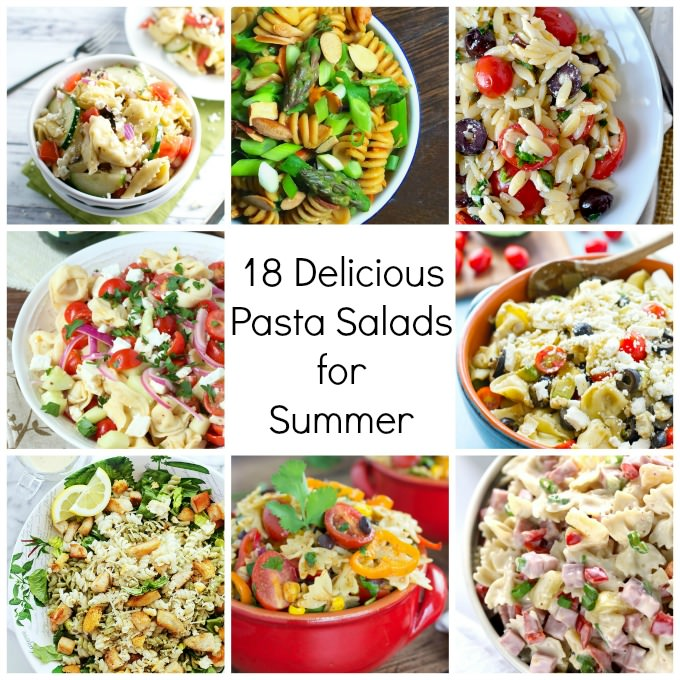 18 Delicious Pasta Salads for Summer