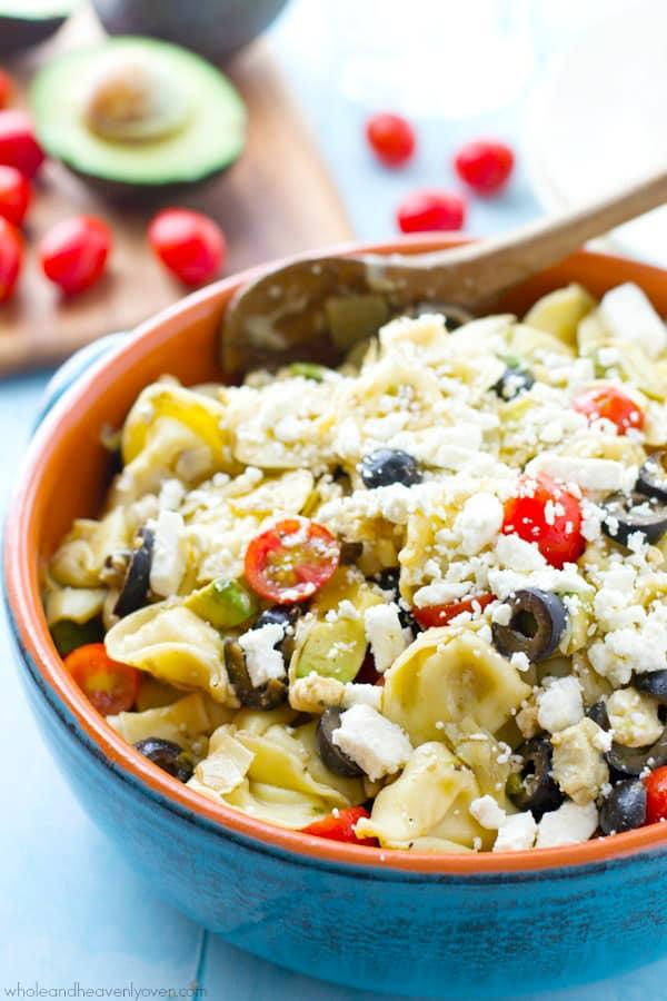 Mediterranean-Tortillini-Pasta-Salad4