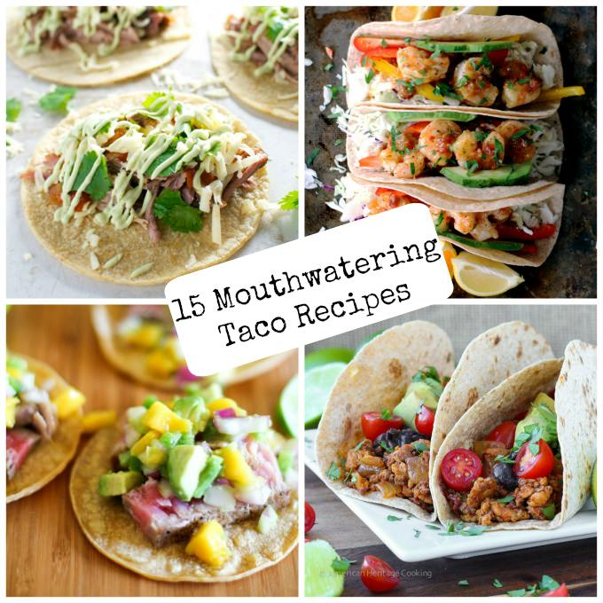 15 Mouthwatering Taco Recipes