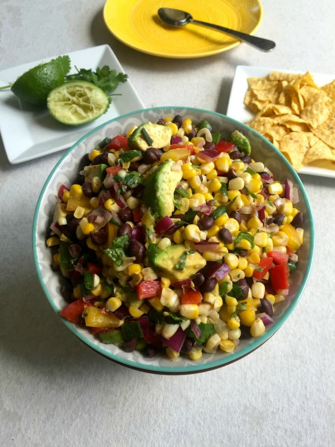 Sweet Corn Salad Dressing Sweet Corn Black Bean Salad