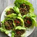 Thai Turkey Quinoa Lettuce Wraps