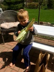 Will Husking Corn 3