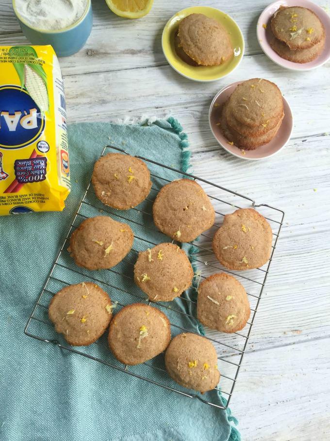 Lemon Cornmeal Cookies