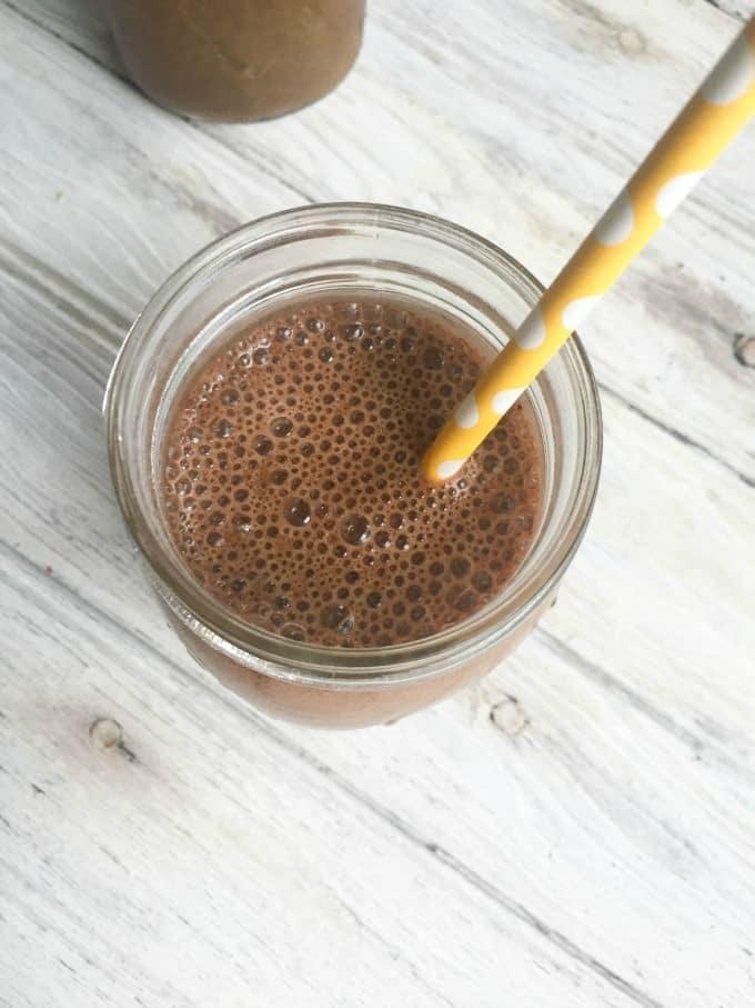 Coconut Banana Iced Coffee Smoothie