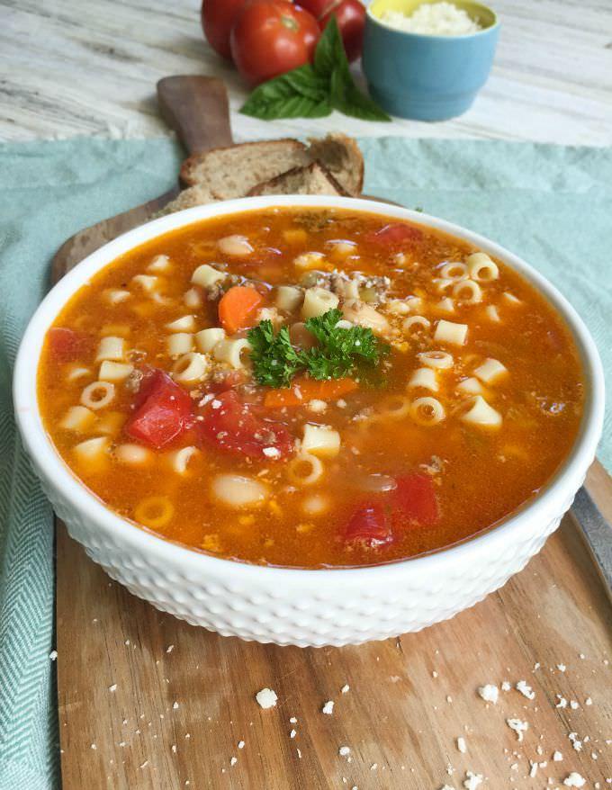 Pasta e Fagioli - A Cedar Spoon