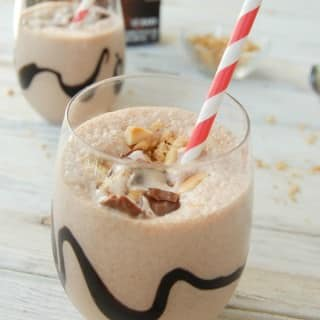 Snickers Ice Cream Milkshake