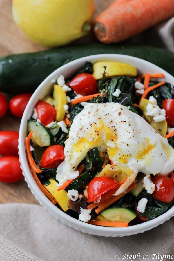 Gluten-Free Garden Vegetable Bowl - featured 2