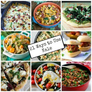 21 Ways to Use Kale {Superfood Saturday}