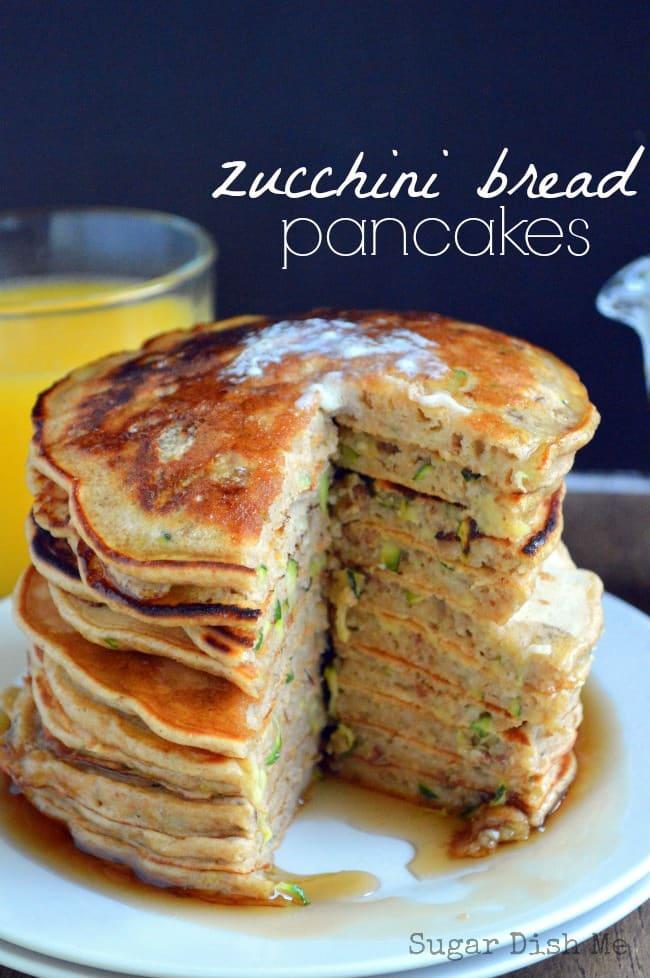 Zucchini-Bread-Pancakes