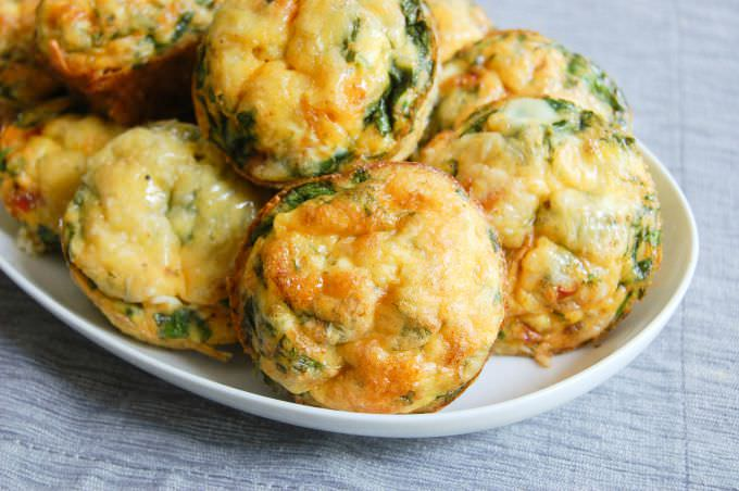 Vegetarian Breakfast Egg Muffins - vegetarian muffins