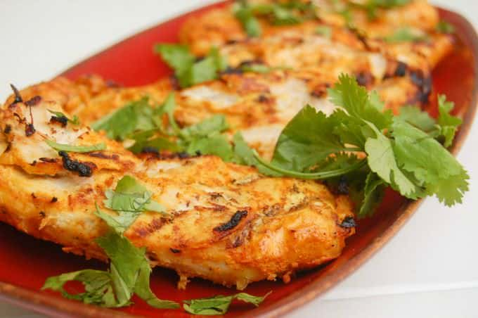 Tandoori Grilled Chicken close up