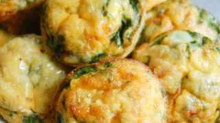 Vegetarian Breakfast Egg Muffins