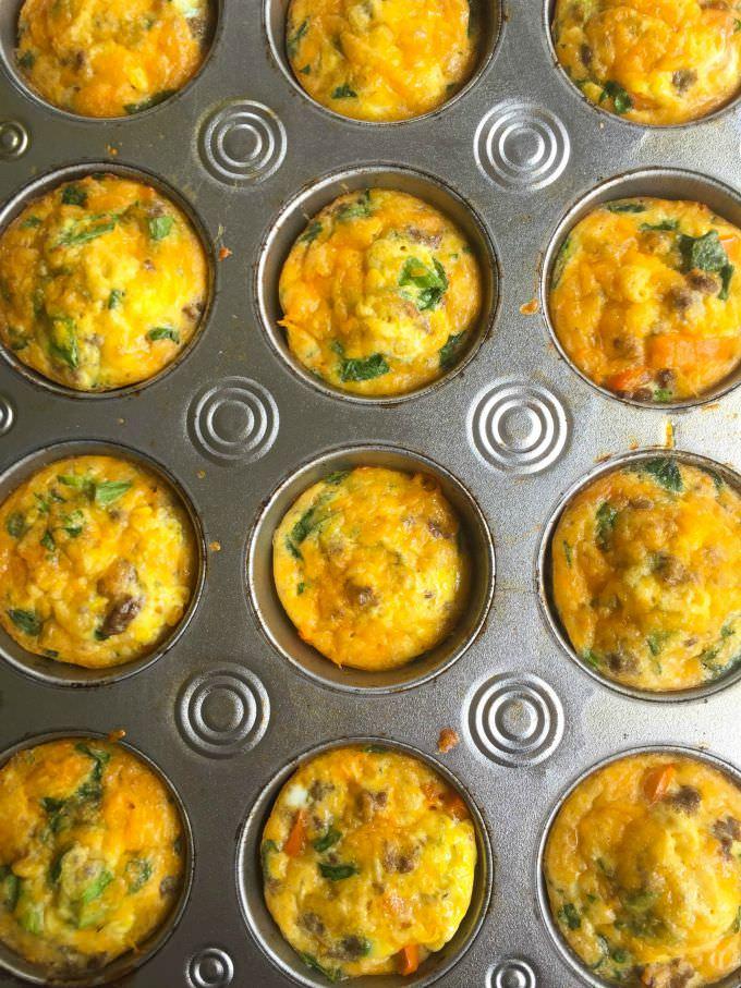 Southwest Taco Egg Muffins