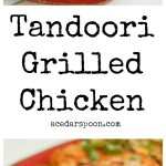 Tandoori Grilled Chicken Collage