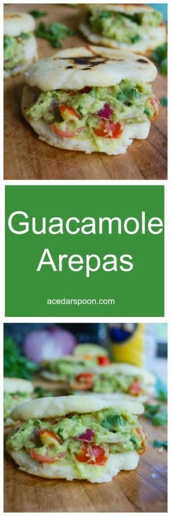 Guacamole Arepas