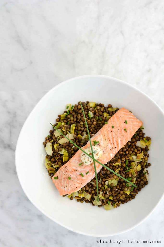 Salmon-and-Lentils-with-Herb-Mustard-Butter-683x1024