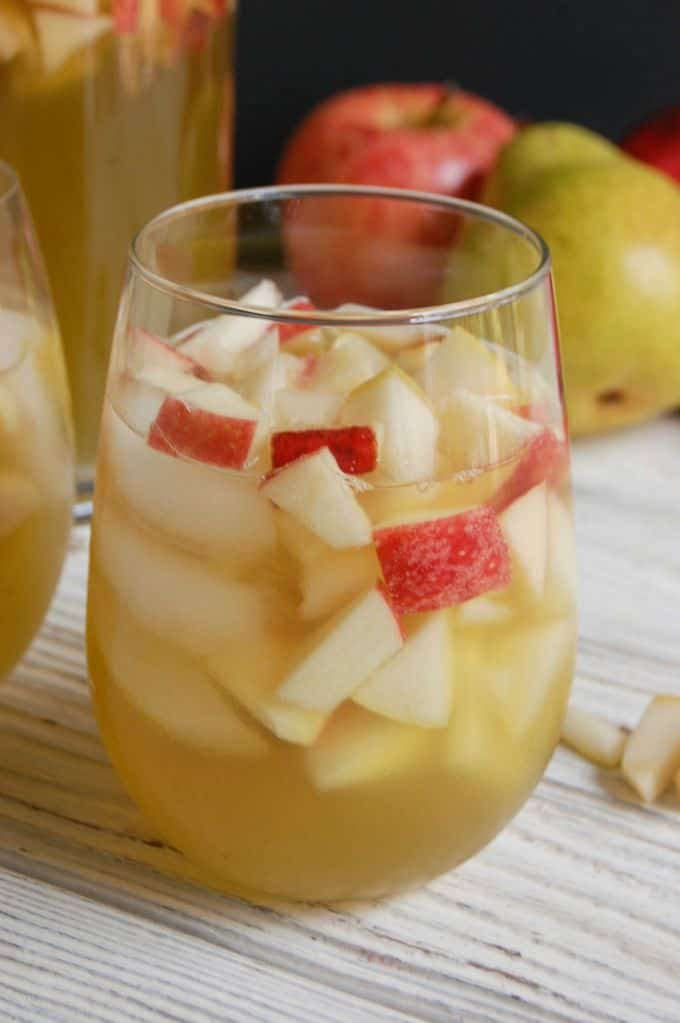 Sparkling Apple Pear Sangria