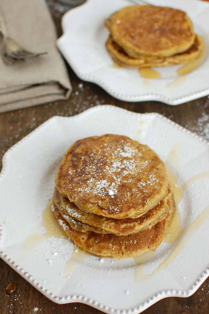 pumpkin pie pancakes have similar flavors to your favorite pumpkin pie ...