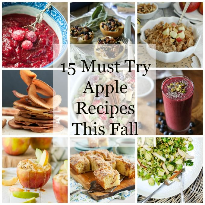 15 Must Try Apple Recipes This Fall