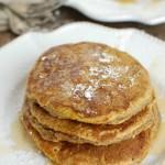 Pumpkin Pie Pancakes - breakfast