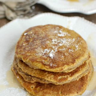 Pumpkin Pie Pancakes - breakfast