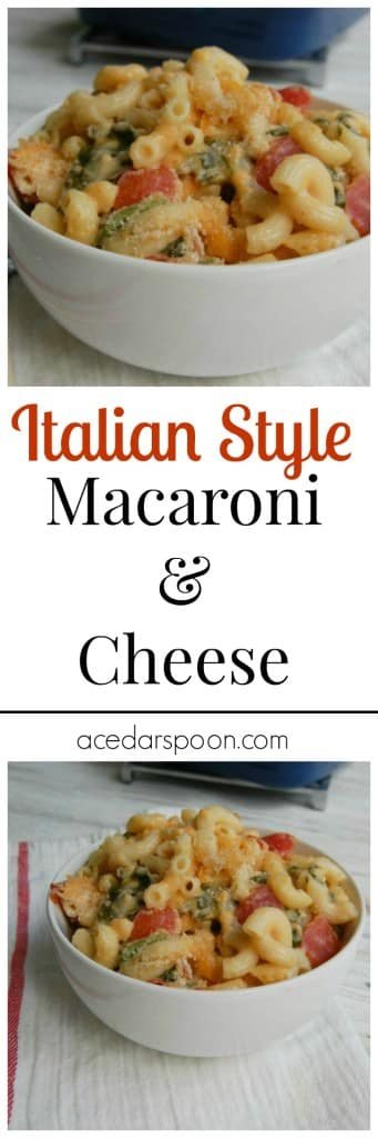 Italian Style Macaroni and Cheese