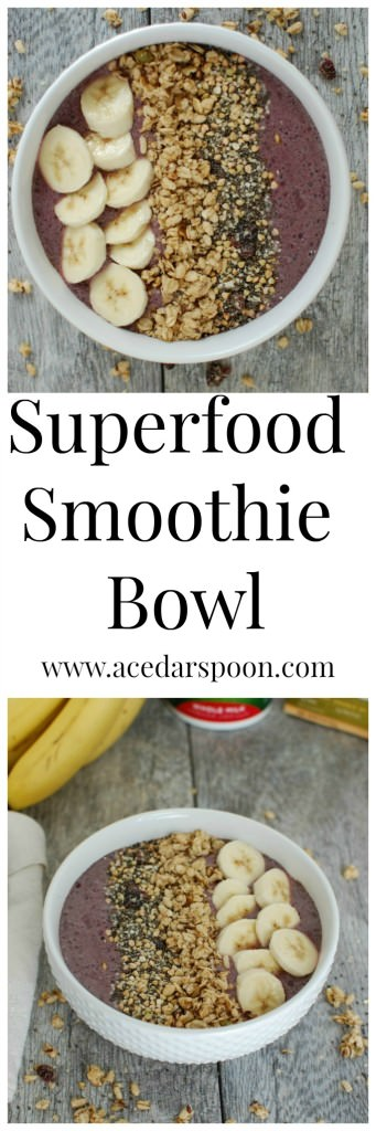 Superfood Smoothie Bowl - delicious