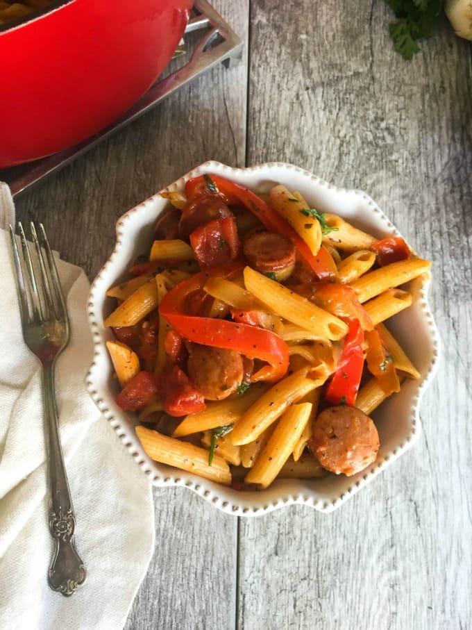 Easy One Pot Cajun Pasta Recipe From A Cedar Spoon