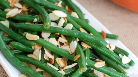 Green Beans with Brown Butter and Toasted Almonds