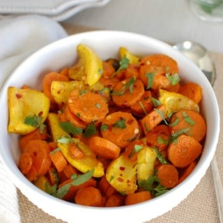 Moroccan Roasted Carrots