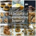 16 Delicious Thanksgiving Desserts