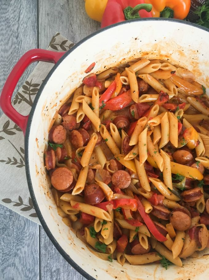 Easy one pot cajun pasta recipe from a cedar spoon one pot cajun pasta forumfinder Image collections