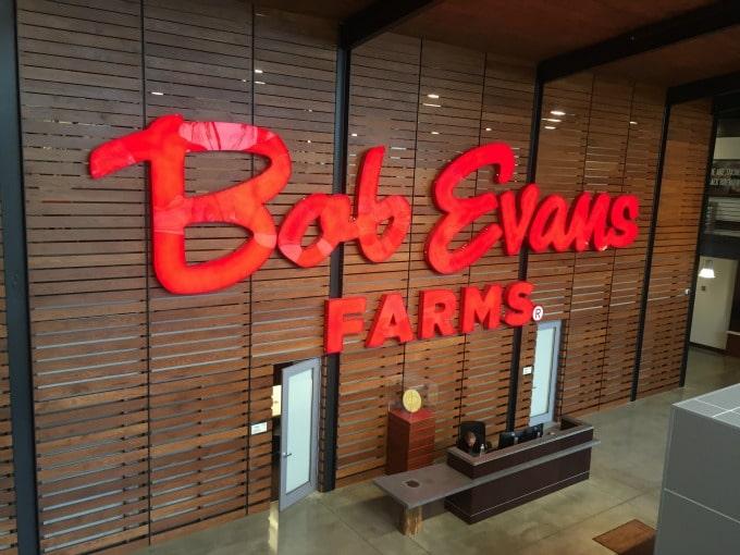 Bob Evans Sign