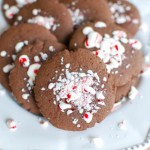 Easy Chocolate Peppermint Cookies - Yum!
