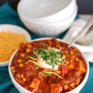 Sweet Potato Chili - Yum!